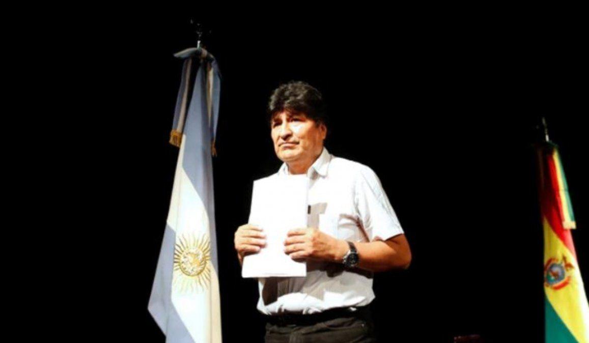 Evo Morales convocó a un acto en la frontera entre Argentina y Bolivia