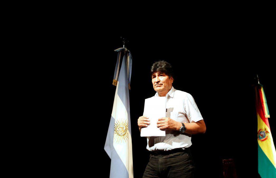 ¿Dónde será el acto que convocó Evo Morales?