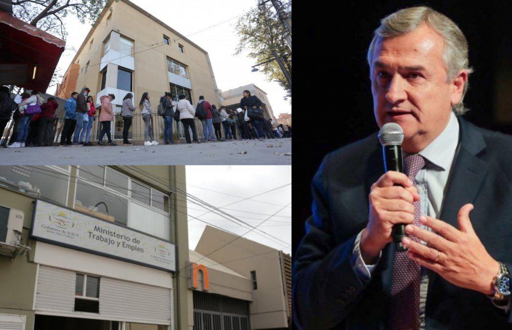 Desempleo en Jujuy: Según Morales, la provincia logró incentivar el empleo genuino