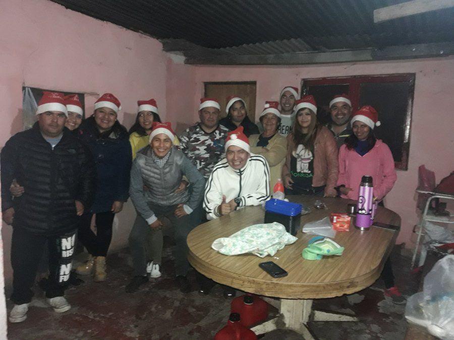 Ofrecen una cena navideña para personas en situación de calle
