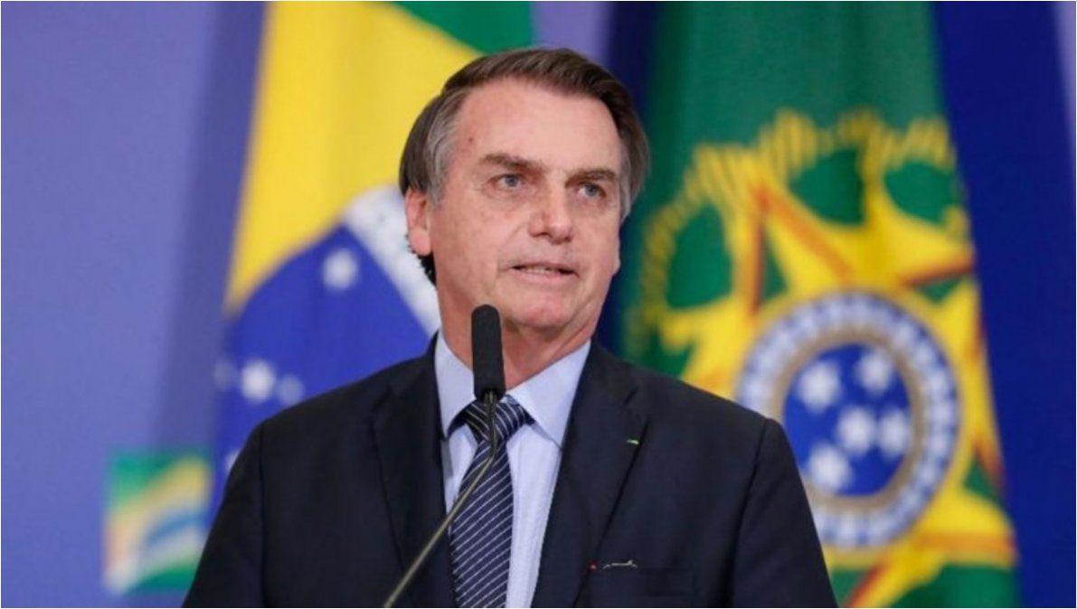 Se cayó Bolsonaro y está en observación