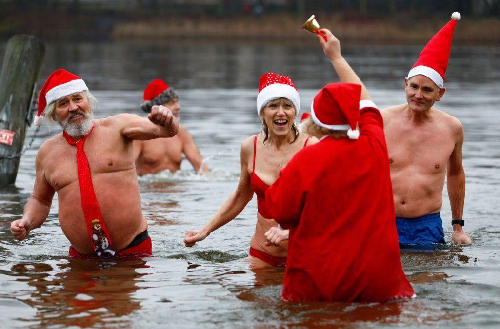 Las mejores fotos del festejo de la Navidad alrededor del mundo
