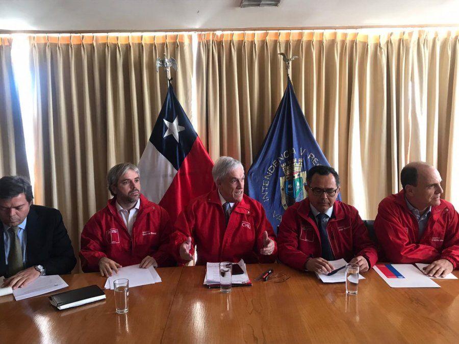 Presentaron un plan de recuperación para familias afectadas por el incendio en Valparaíso