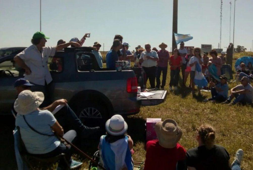 Productores agropecuarios protestan por el aumento de las retenciones