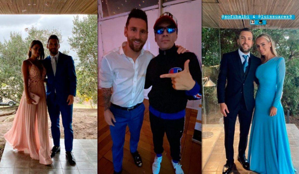 Messi, Neymar y ¡Pablito Lescano!: la intimidad de la boda de Sofía Balbi y Luis Suárez