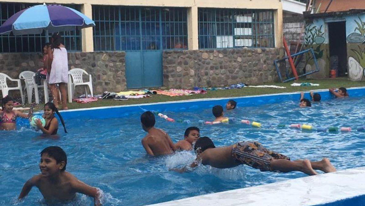 Colonia de vacaciones en Reyes
