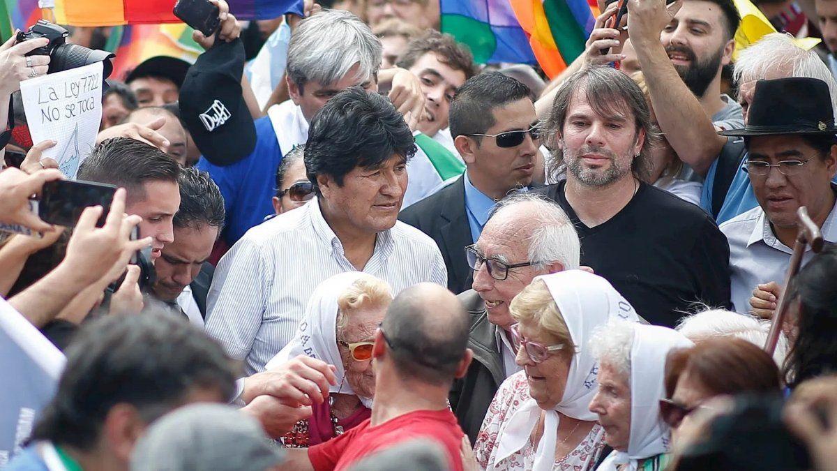 EEUU pidió que Evo Morlaes no abuse de su estatus de refugiado en Argentina