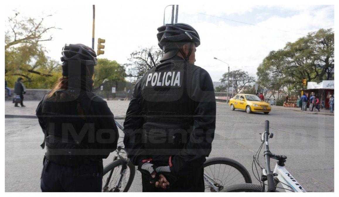 Bicipolicías capturaron a un delincuente