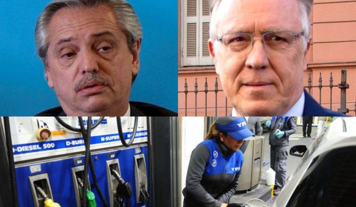 No subió la nafta pero, qué le dijo Alberto Fernández a Nielsen
