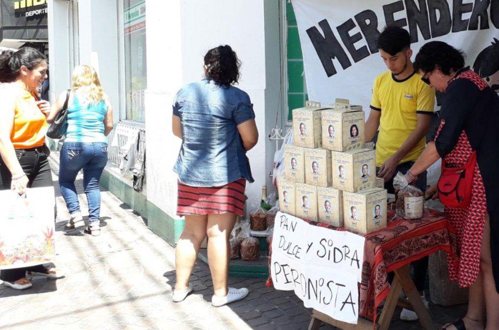 El pan dulce peronista ahora se vende a beneficio de un merendero de Jujuy