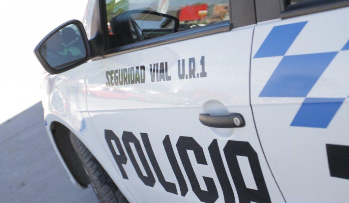 Chocó un auto, intentó darse a la fuga y fue alcanzado por policías