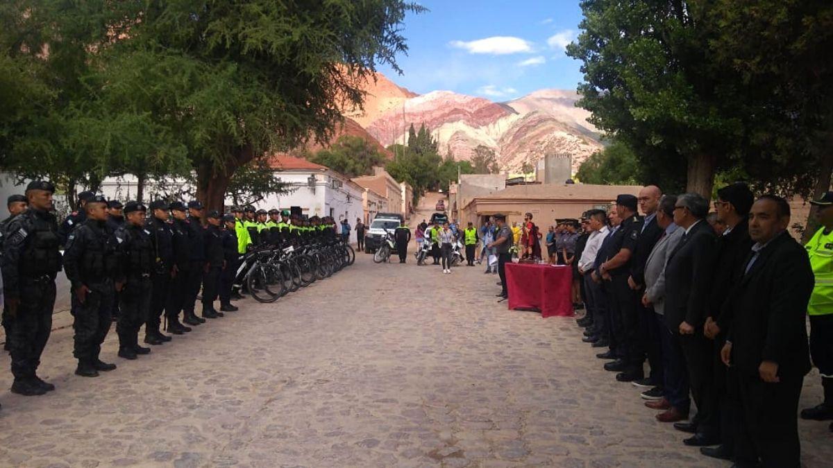 Lanzaron el operativo de seguridad de verano en la Quebrada