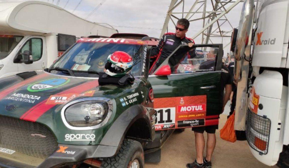 Orly Terranova líder en el Dakar de Arabia Saudita