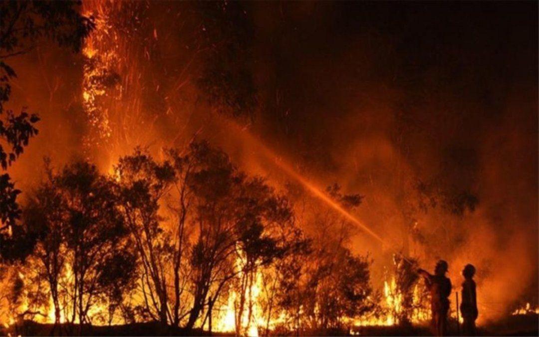 El humo de los incendios de Australia llegó a la Argentina