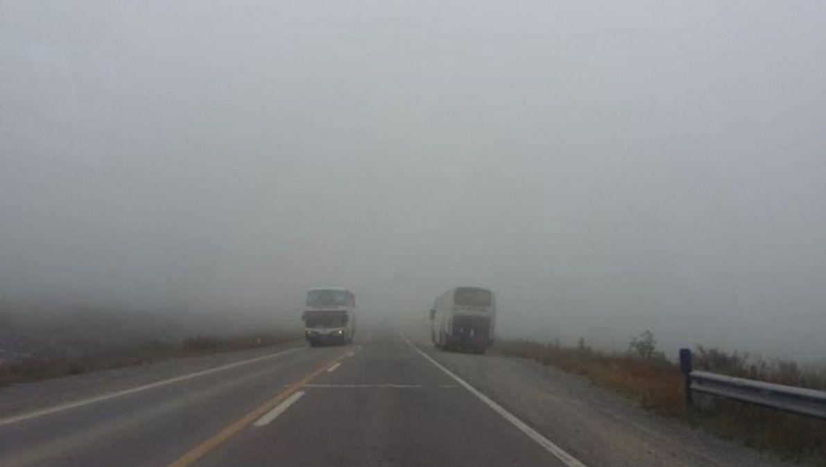 Corte en Santa Catalina y en la 73 en Valle Grande, precaución por neblina en Bárcena