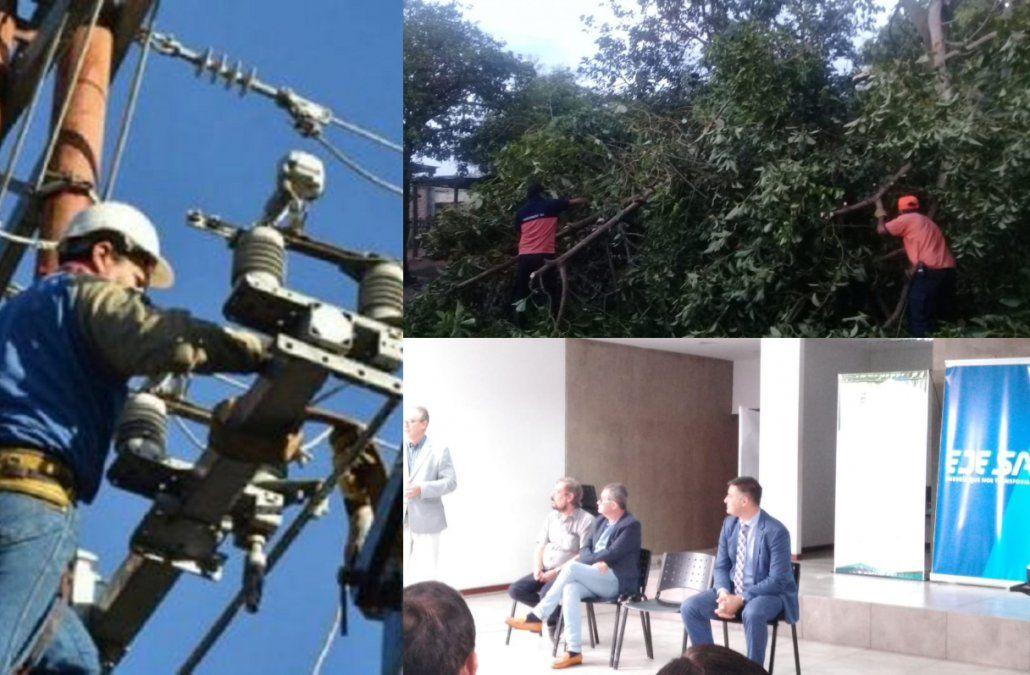 Presentaron un Plan de Contingencia para situaciones de emergencia que afecten el servicio eléctrico