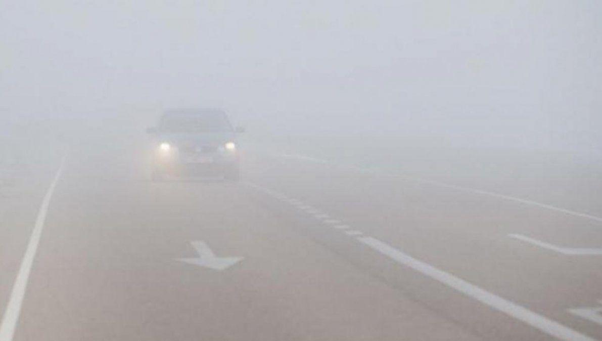 Precaución por neblina en Bárcena, se habilitó la Ruta 40 en Santa Catalina