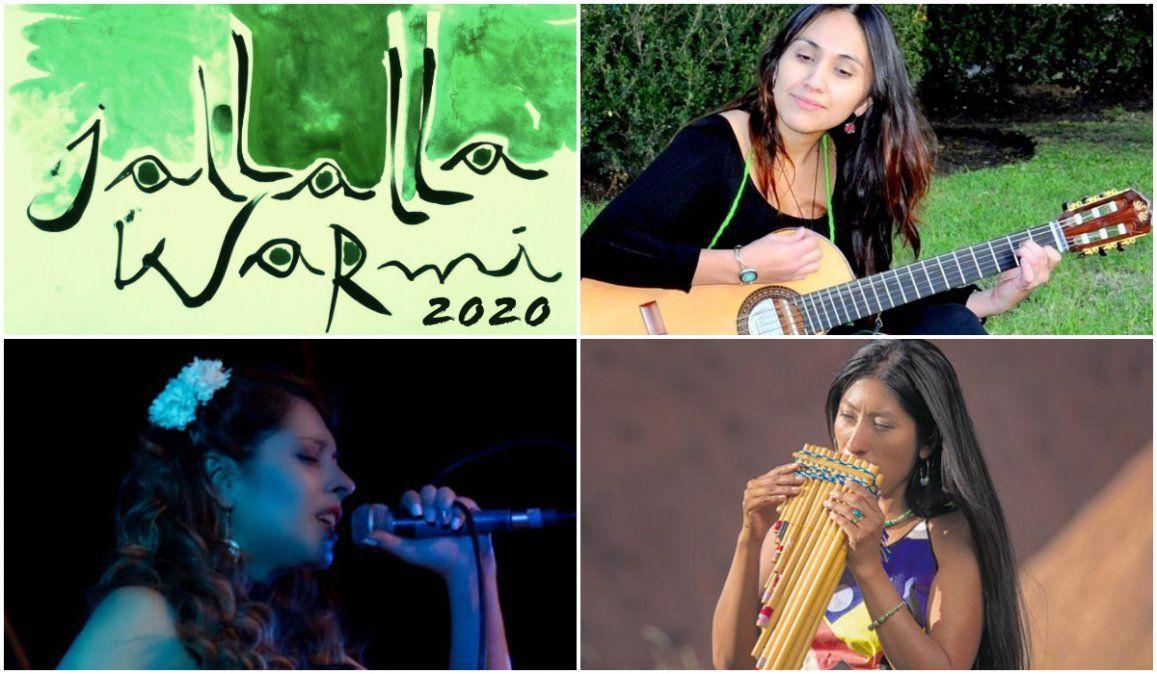 Jallalla Warmi, Encuentro de mujeres artistas en Tilcara