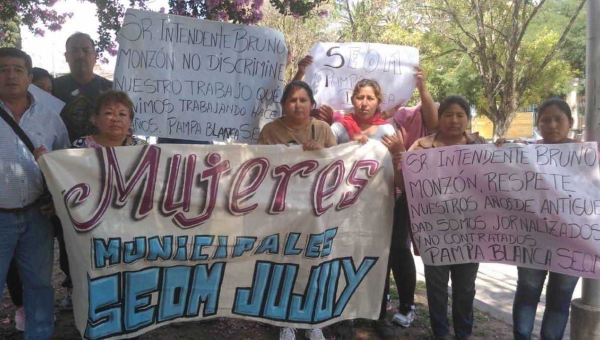25 municipales de Pampa Blanca con años de antigüedad fueron despedidos