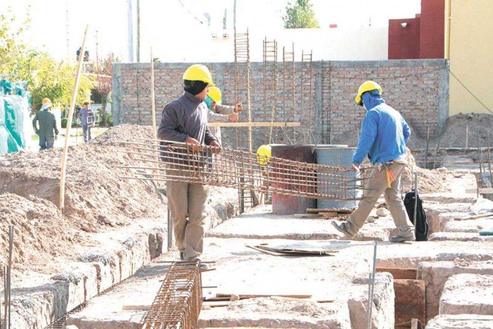 Industria y construcción cayeron hasta un 5,2%