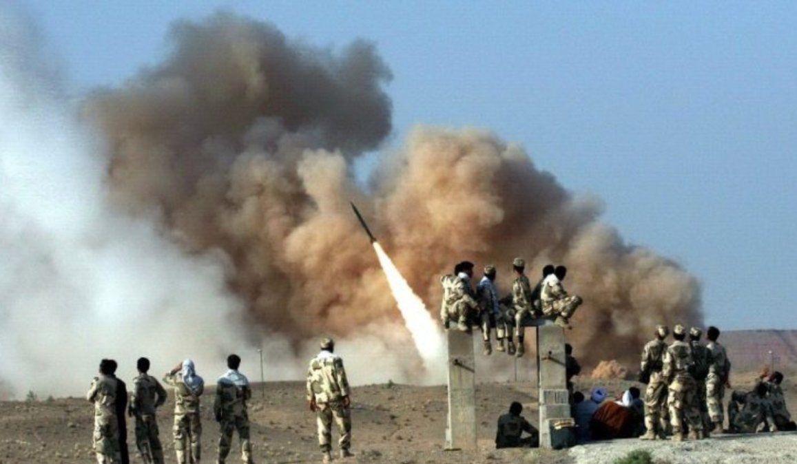Contrataque iraní: dos misiles cayeron cerca de la embajada de EEUU en Bagdad