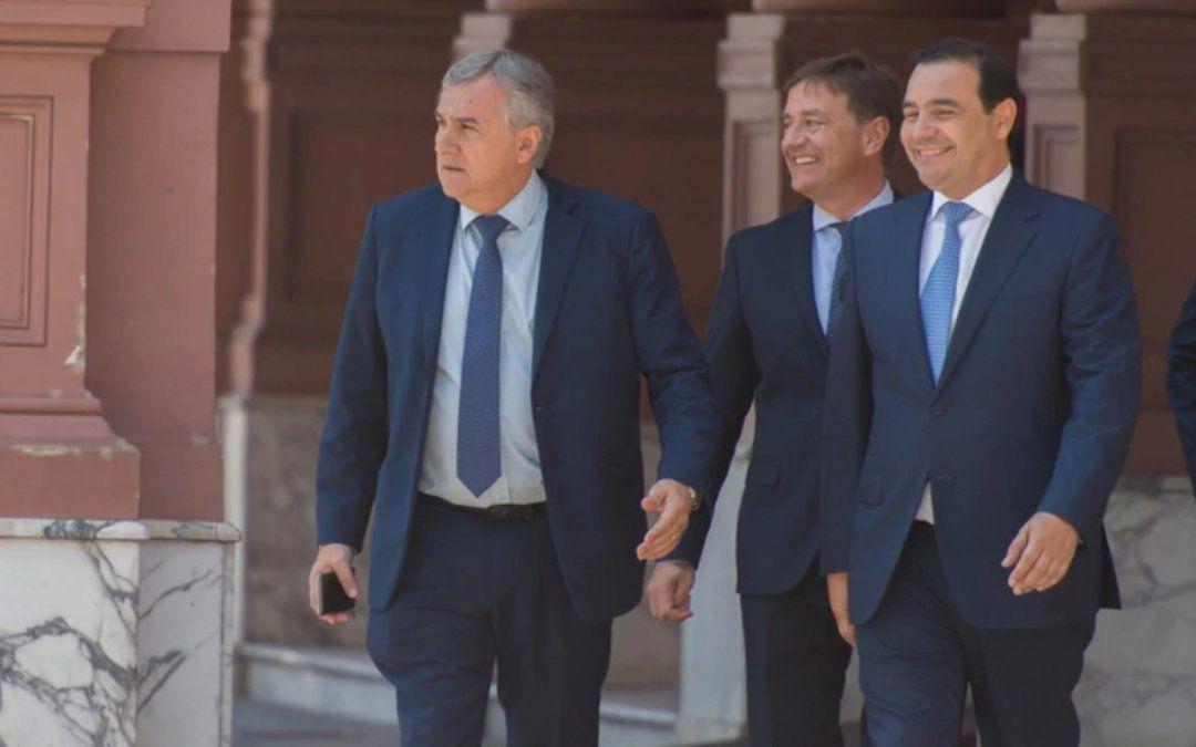 Tercera visita de Morales a Casa Rosada desde la asunción de Alberto