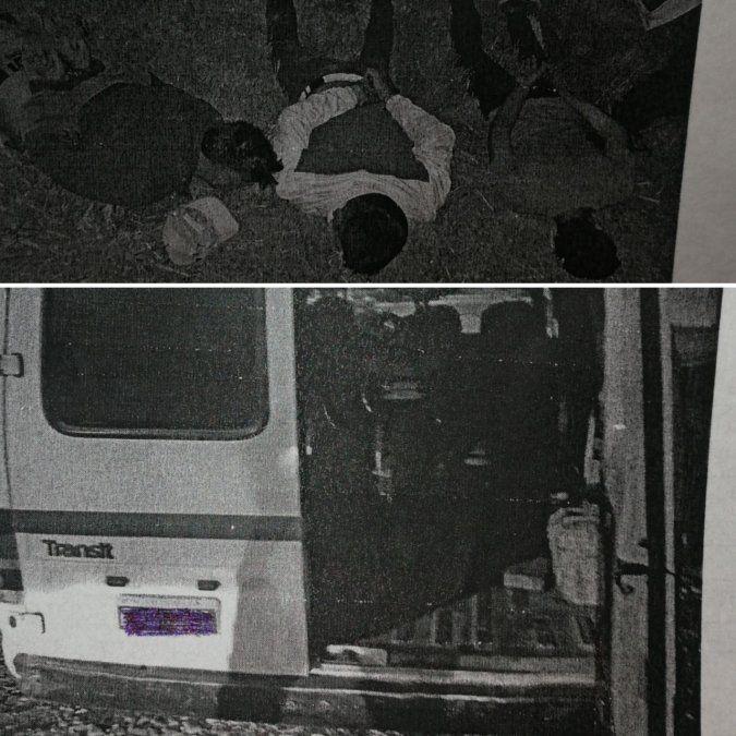 Se bajaron de una trafic y agredieron a dos personas para robarles