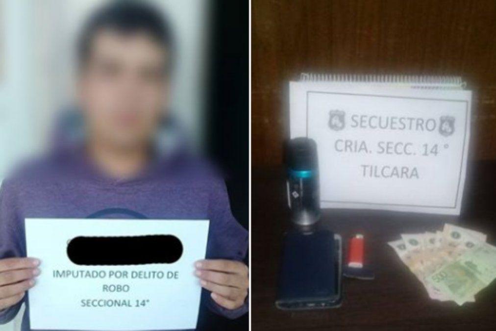 Delincuente atacó por la espalda a un turista para robarle