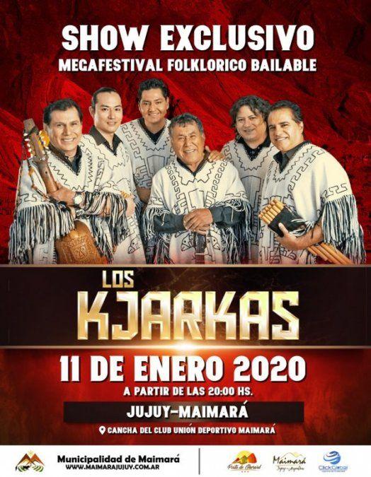 Los Kjarkas celebran cincuenta años de música en Jujuy