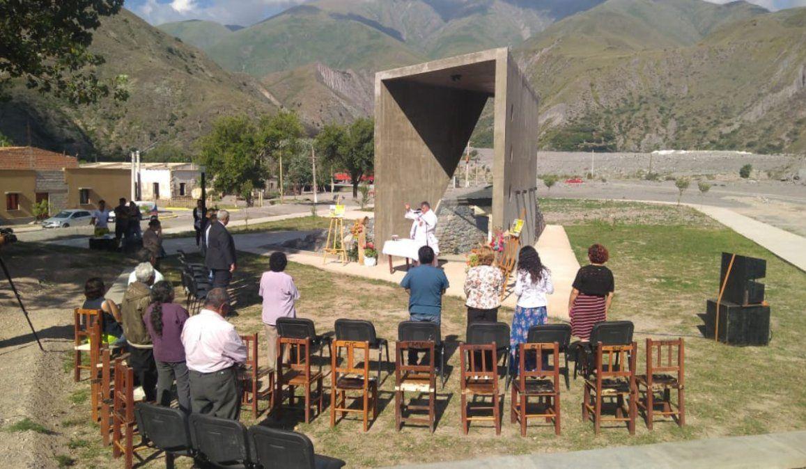 En un acto conmerativo recordaron la tragedia de Volcán