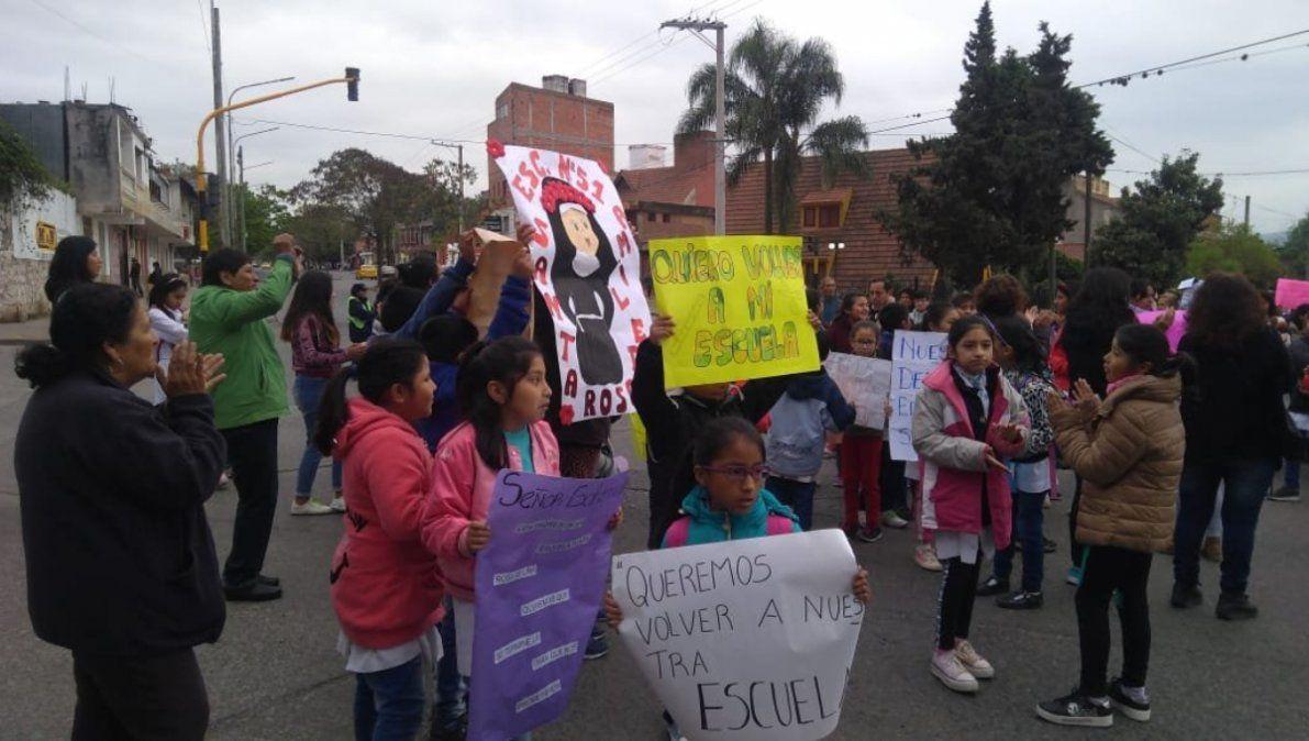 Preocupa la falta de avance en la obra de la Escuela Santa Rosa de Lima