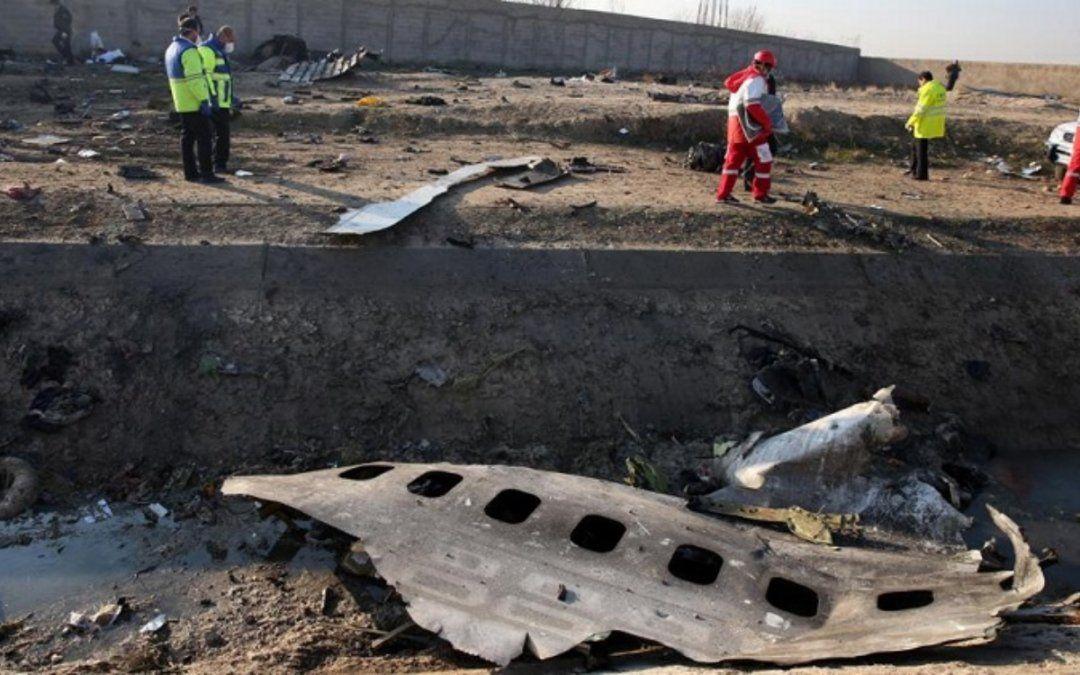 Irán reconoce que involuntariamente derribó el avión de pasajeros ucranianos
