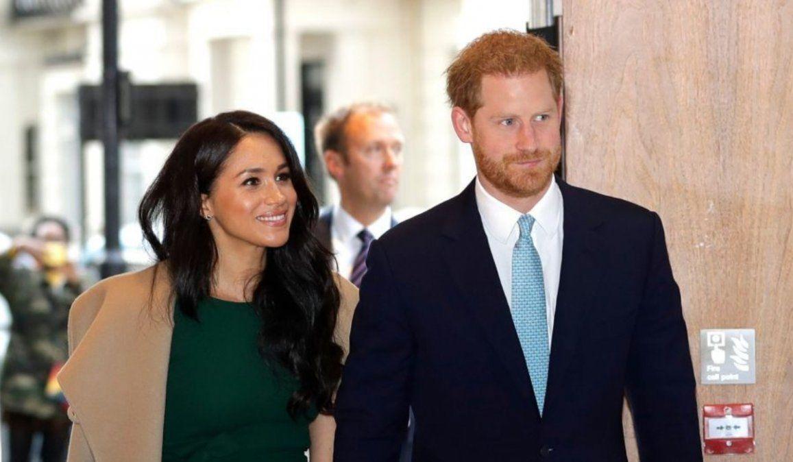 Histórica reunión  en la familia real por la renuncia de Harry y Meghan