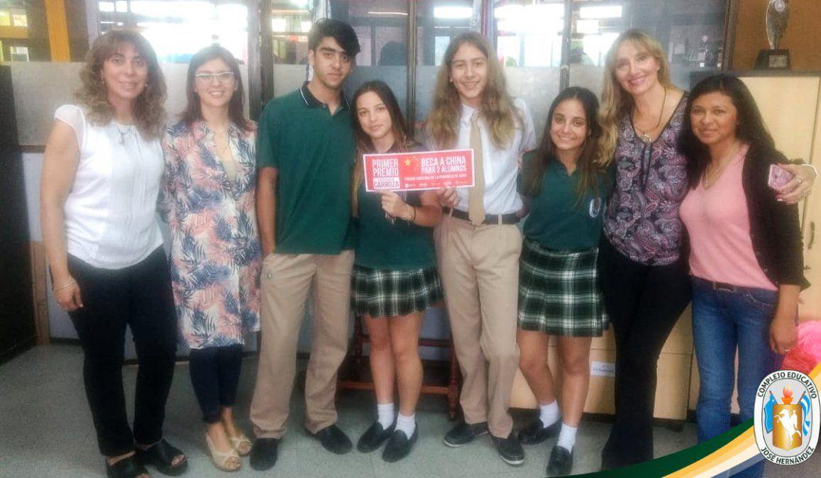 Alumnos jujeños se preparan para viajar a China y representar a la provincia