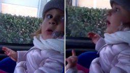 un hombre reto a su hija por pintarse las unas y su reaccion se volvio viral