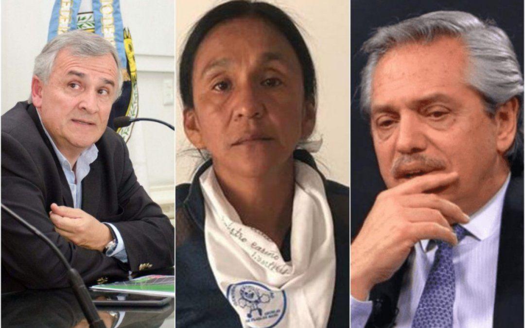 Por primera vez, Alberto Fernández dio indicios de la llave para liberar a Milagro Sala