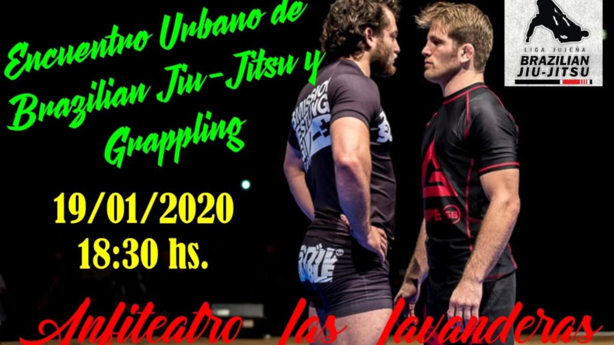 Encuentro urbano de Brazilian Jiu-Jitsu y Grappling en Las Lavanderas