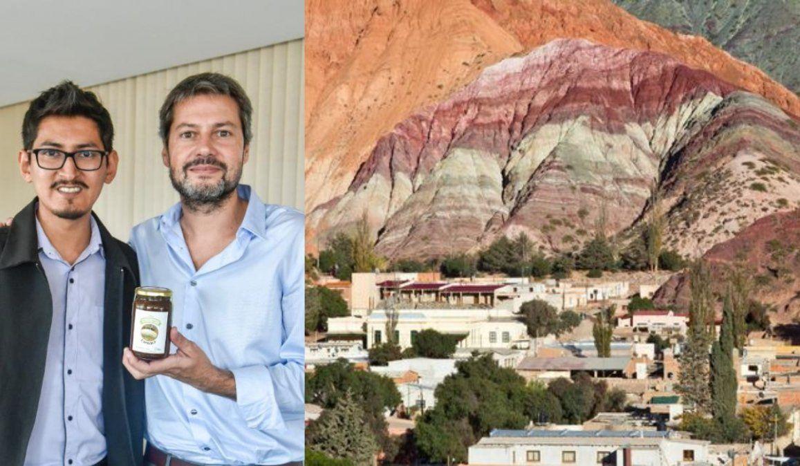 Los ministros Lammens y Bauer recibieron proyectos de la Quebrada