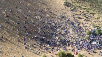 Mejoran las condiciones en Abra Pampa y se realiza el Festival del Huancar