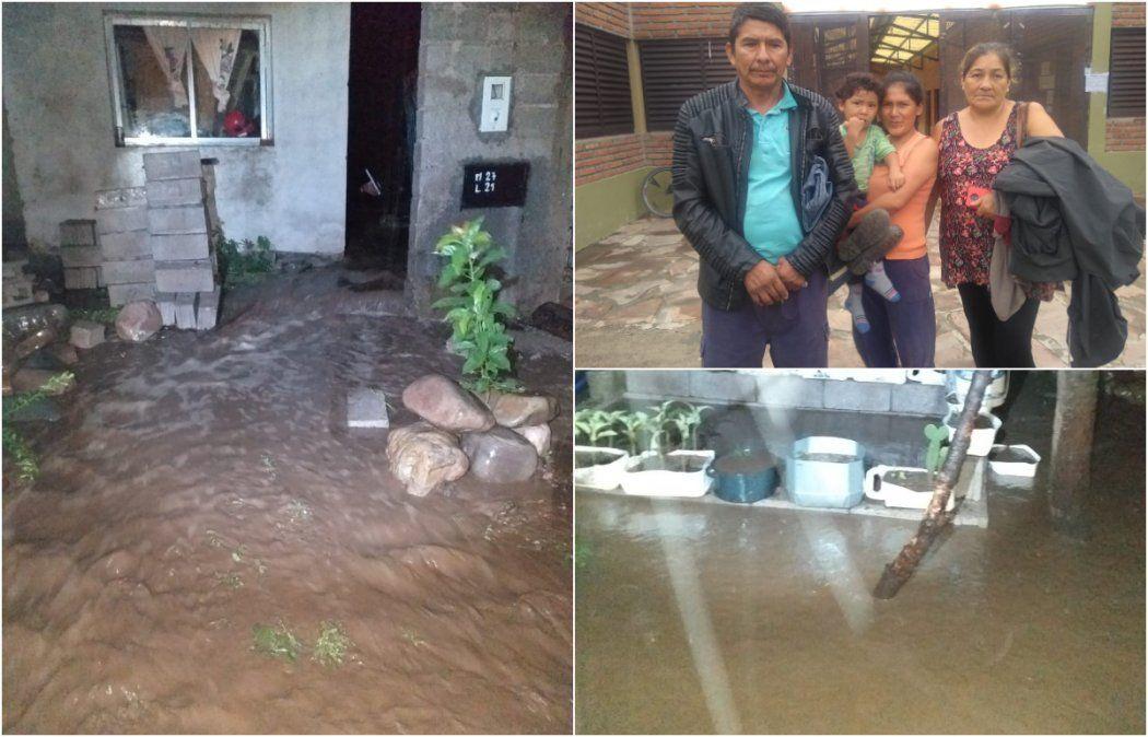 Cansados de inundarse, los evacuados de Monterrico pidieron obras