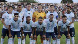 la posible formacion de la seleccion argentina para el debut en el preolimpico