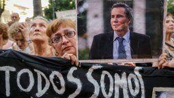 caso nisman: marchas y ceremonias a cinco anos de su muerte