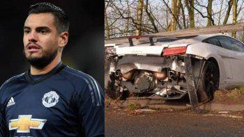 Chiquito Romero se accidentó en Inglaterra