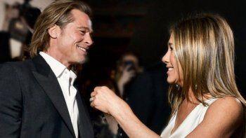El encuentro de Brad Pitt y Jennifer Aniston que fue furor en las redes