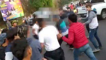 Tucumanos a las piñas en Catamarca: No se metan
