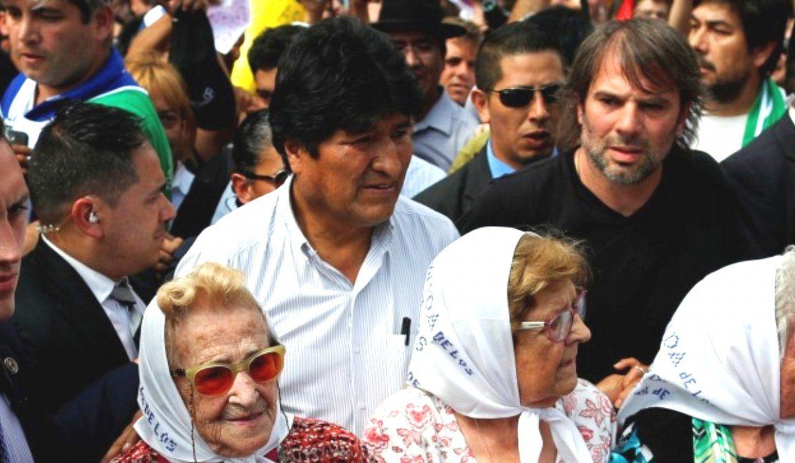 Evo Morales encabezará el primer acto electoral del MAS en Buenos Aires