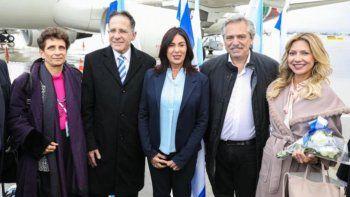 Alberto Fernández llegó a Israel para honrar a las víctimas del Holocausto