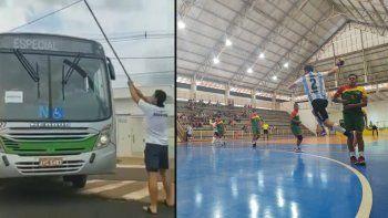 La insólita situación que vivió la selección argentina en Maringá