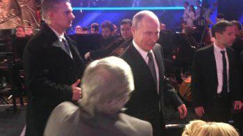 Putin llegó tarde al homenaje a las víctimas del Holocausto y canceló la reunión prevista con Alberto Fernández