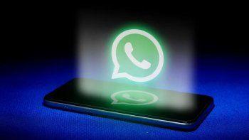 Podés usar burbujas de conversación en Whatsapp